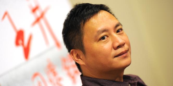 Le dissident chinois Wang Dan, le 5 octobre à Taipei.