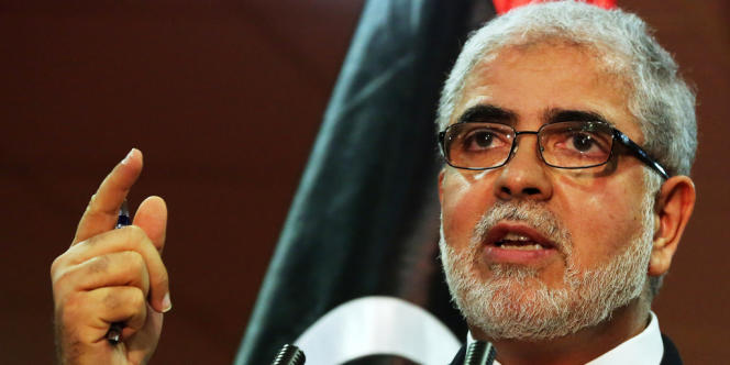 Le premier ministre libyen, Moustapha Abou Chagour.