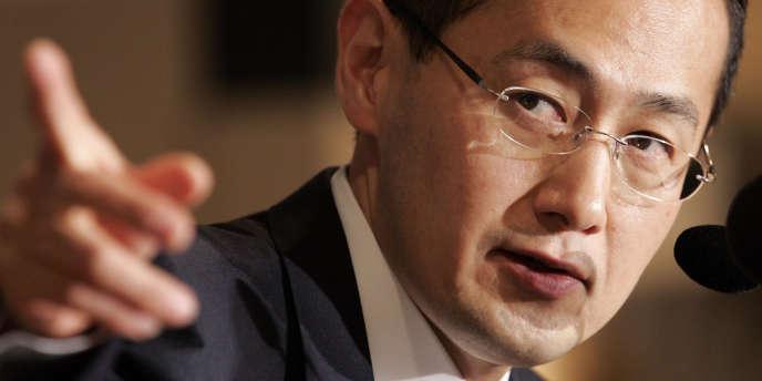 Le scientifique japonais Shinya Yamanaka, le 1er septembre 2008.