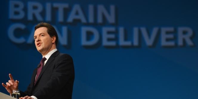George Osborne lors de la conférence du Parti conservateur à Birmingham, le 8 octobre.