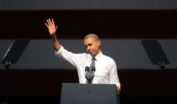 Barack Obama à San Francisco, le 8 octobre 2012.
