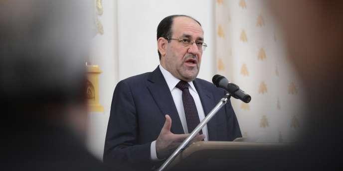 Le premier ministre irakien Nouri Al-Maliki, le 8 octobre 2012.