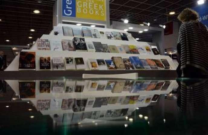 La Foire du livre de Francfort, le 10 octobre 2012.