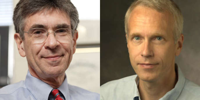 Robert Lefkowitz et Brian Kobilka.