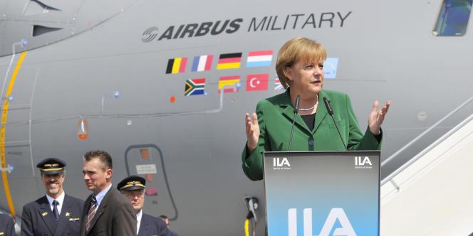 La chancelière allemande Angela Merkel a dit