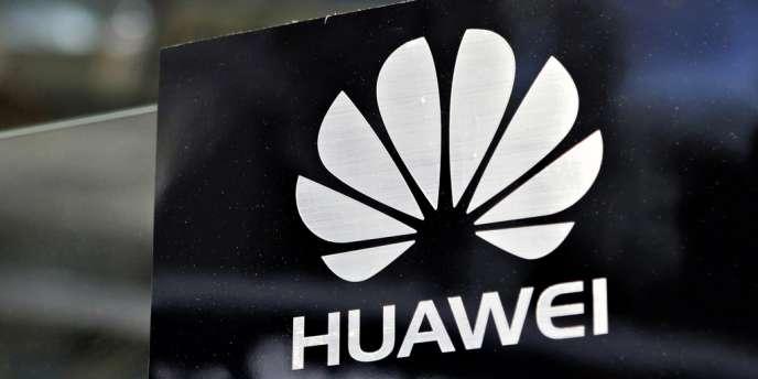 Le logo de l'équipementier chinois Huawei.