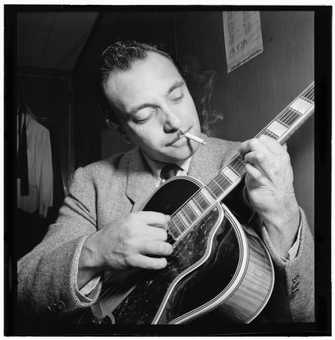 Django Reinhardt à New York en 1946.