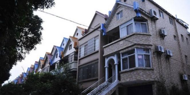 Une des résidences où Cai Bin avait acheté une maison au nom de sa femme.