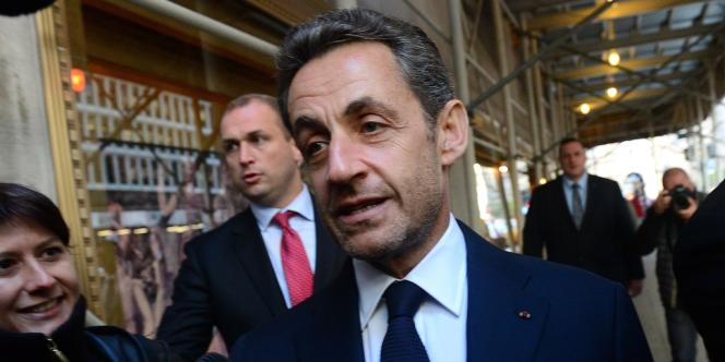Nicolas Sarkozy à New York, jeudi 11 octobre.