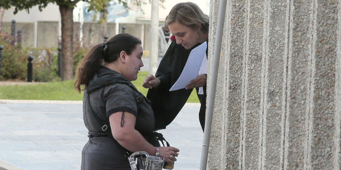 Nina, 29 ans, victime de viols, le 19 septembre à Paris.