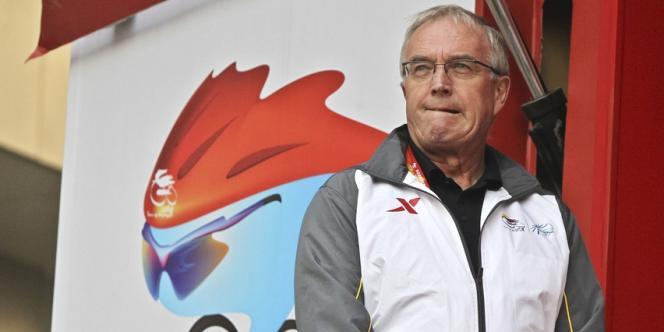 Pat McQuaid, président de l'UCI, le 12 octobre à Pékin.