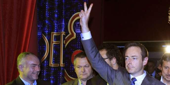 Le leader des indépendantistes flamands de la N-VA, Bart De Wever, dimanche 14 octobre.
