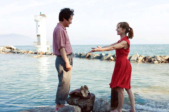 Isabelle Huppert dans le film coréen de Hong Sang-soo,