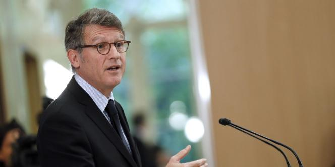 Vincent Peillon, ministre de l'éducation nationale, le 11 octobre à Paris.