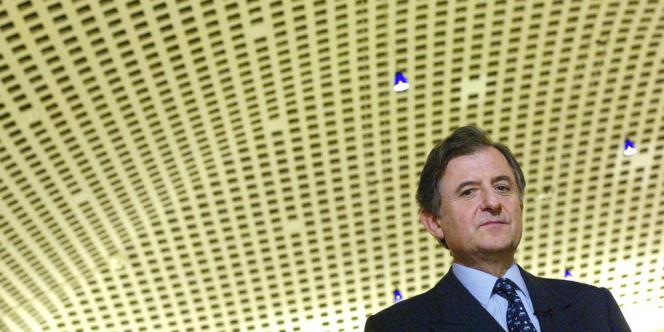 Jean-René Fourtou, le président du conseil de surveillance du groupe Vivendi.