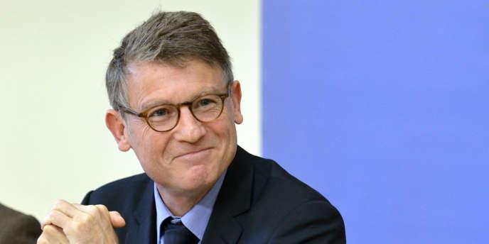 Vincent Peillon, le 15 octobre au ministère de l'éducation nationale à Paris.