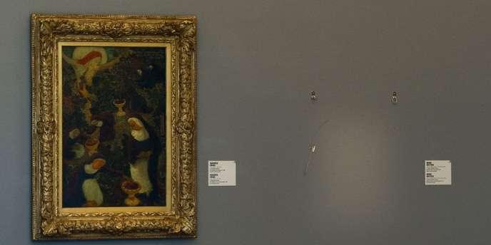 Sept toiles, dont des œuvres de Picasso, Matisse, Monet et Gauguin, ont été volées.