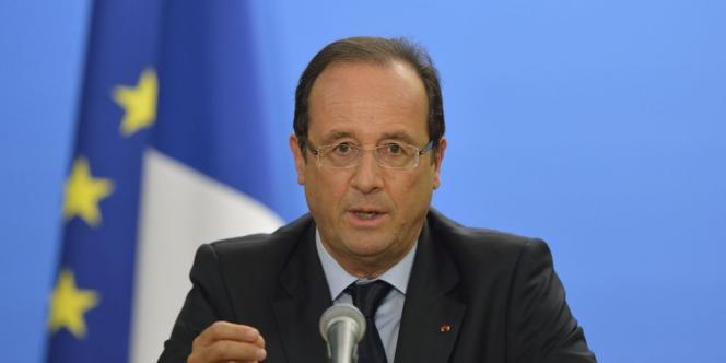 Au début de 2012 déjà, le président François Hollande avait fait de