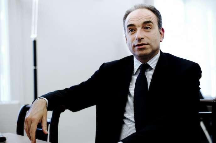 Jean-François Copé, dans son bureau à l'Assemblée nationale, le 16 octobre.