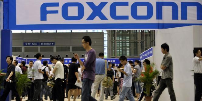 Les commandes d'Apple représenteraient 40 % du chiffre d'affaires du taïwanais Foxconn.