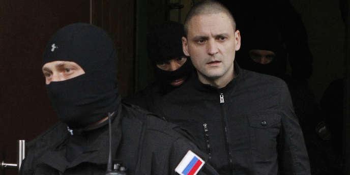 L'opposant Sergueï Oudaltsov était accusé par les autorités russes de préparer des