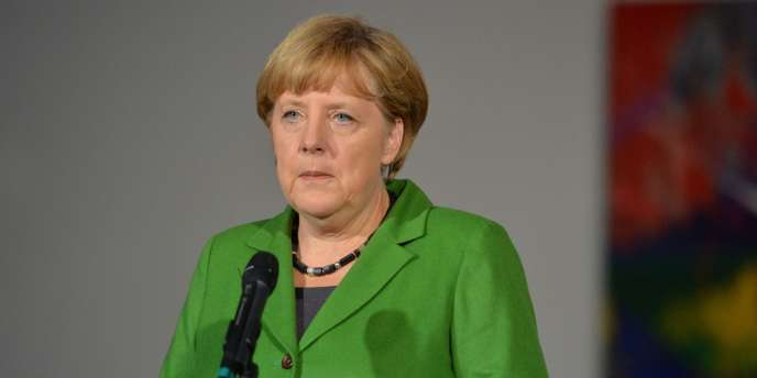 La chancelière allemande, Angela Merkel, le 16 octobre 2012 à Berlin.