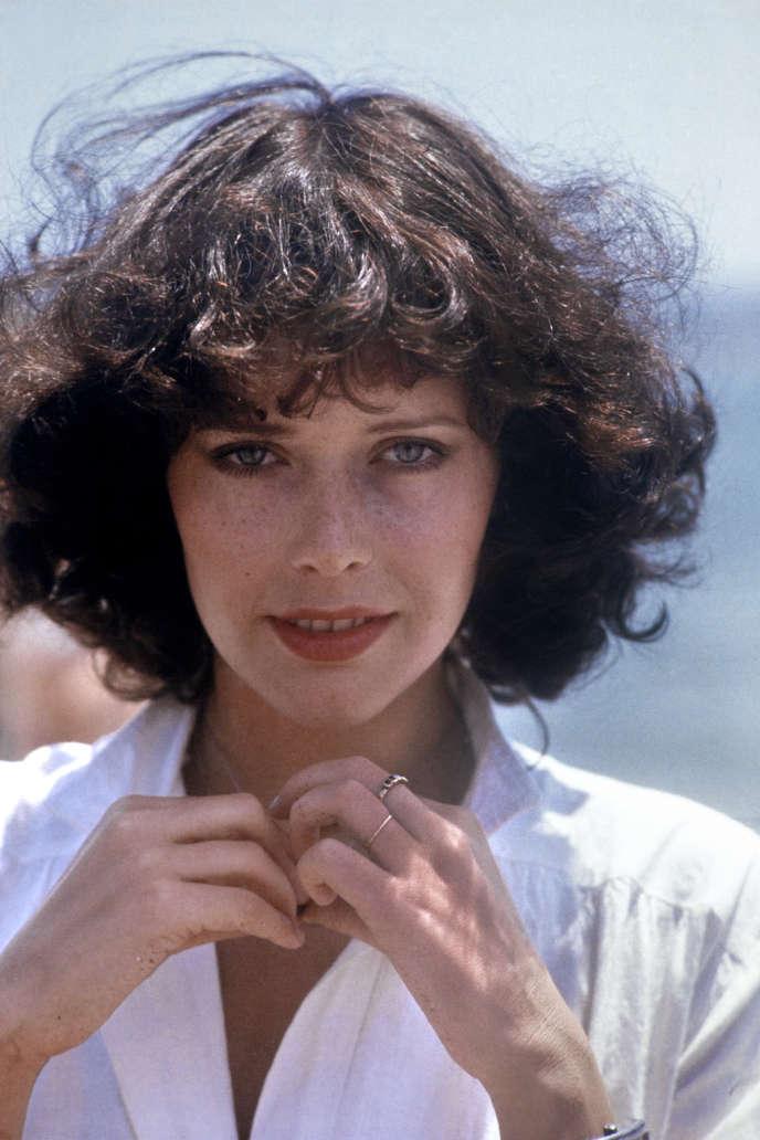 Sylvia Kristel, l'actrice néerlandaise connue pour avoir incarné l'héroïne du film érotique
