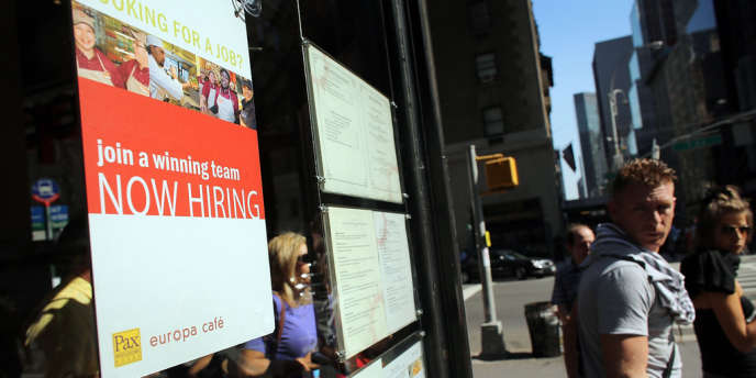 La hausse du taux de chômage annoncée par le département du travail (+ 0,1 point par rapport à septembre), est conforme à la prévision médiane des analystes.