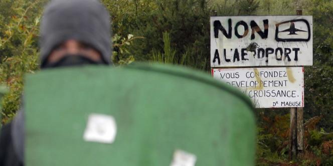 Manifestation contre l'aéroport de Notre-Dame-des-Landes (Loire-Atlantique), le 17 octobre.