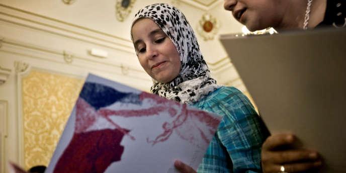 Cérémonie de naturalisation à Macon en 2009.