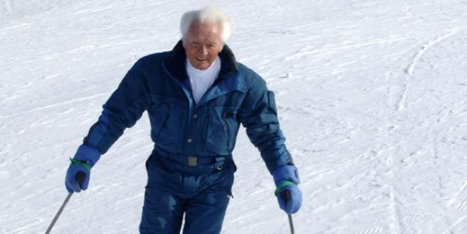 Emile Allais, en février 2006 à Megève.