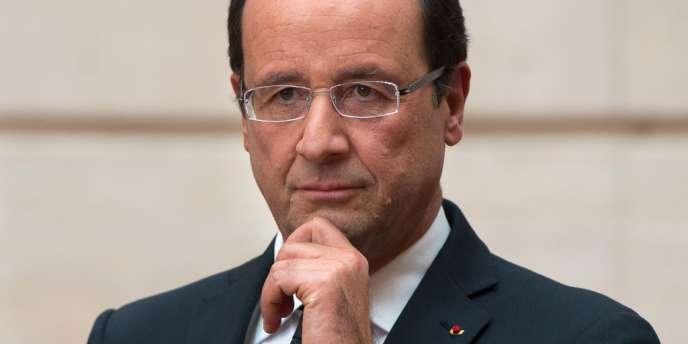 François Hollande, le 17 octobre à Paris.