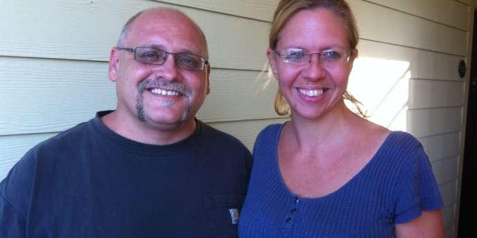 Marcus et Kate Freeman.