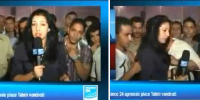 La journaliste Sonia Dridi a été agressée alors qu'elle intervenait en direct sur France 24, vendredi.