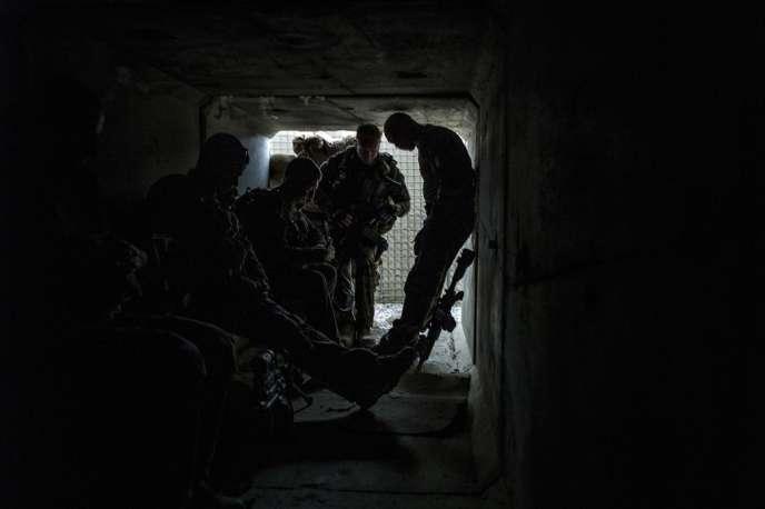 Soldats français en Afghanistan, en septembre 2012.