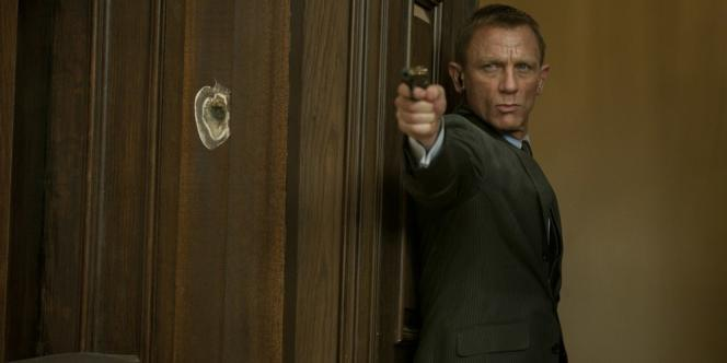 Daniel Craig dans le film américain et britannique de Sam Mendes,