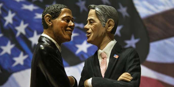 A quelques heures du troisième et dernier débat entre Barack Obama et Mitt Romney, une nouvelle série de sondages est venue confirmer que cette campagne, à quinze jours de son terme, est toujours aussi serrée.