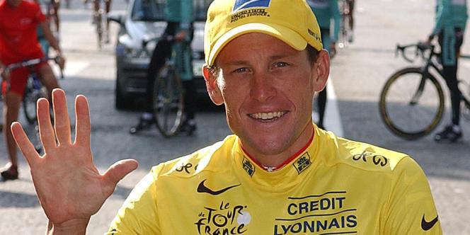 Lance Armstrong, le 27 juillet 2003 à Paris.