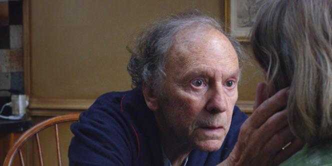 Jean-Louis Trintignant dans le film autrichien, français et allemand de Michael Haneke,