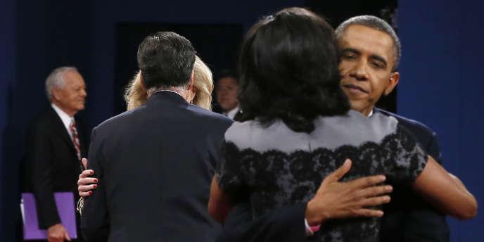 Le président a pris la main sur son rival, selon les premiers sondages, mais il reste que la politique étrangère n'est pas une priorité pour la plupart des électeurs.