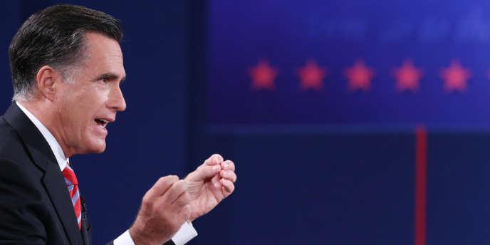 Mitt Romney, le 22 septembre.