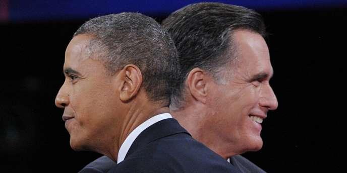 Barack Obama a fait jouer son statut de commandant en chef, accusant Mitt Romney d'incohérence et, entre les lignes, d'incompétence. Le républicain a critiqué