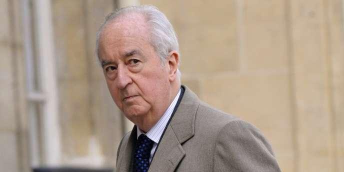 Edouard Balladur en 2009.