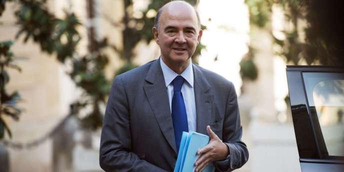 Le ministre de l'économie, Pierre Moscovici, s'est déclaré mardi 23 octobre favorable à un