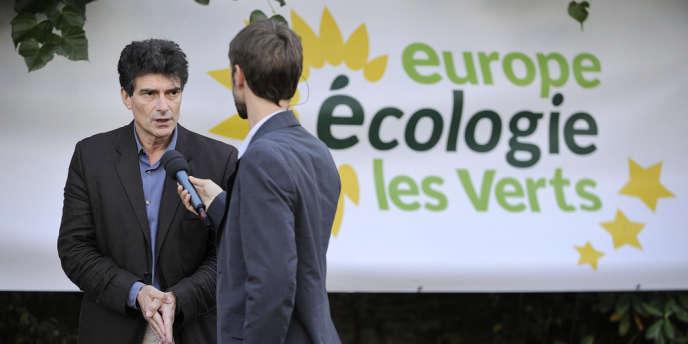Pascal Durand, secrétaire national d'EELV, le 18 septembre à Nantes.