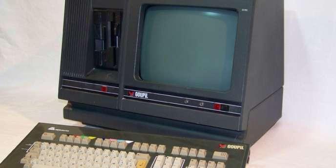 Un ordinateur SMT Goupil G3 de 1983.