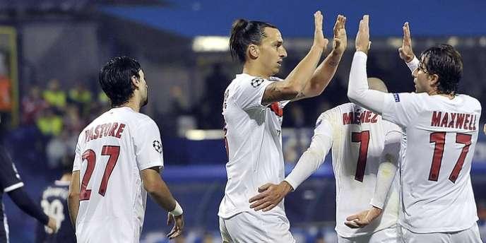Zlatan Ibrahimovic, buteur, et ses copains ont fait le boulot à Zagreb, en ramenant les trois points pour se placer en embuscade, avec 6 points, 2e derrière Porto. Le Dinamo est troisième du groupe avec 3 points.