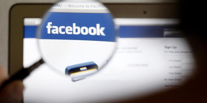 La page d'accueil de Facebook.