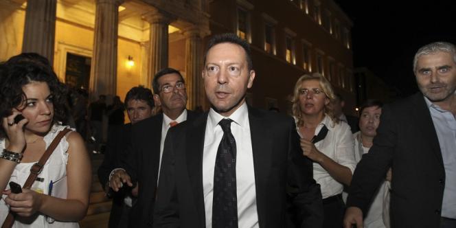 Le ministre des finances grec, Yannis Stournaras, s'est dit