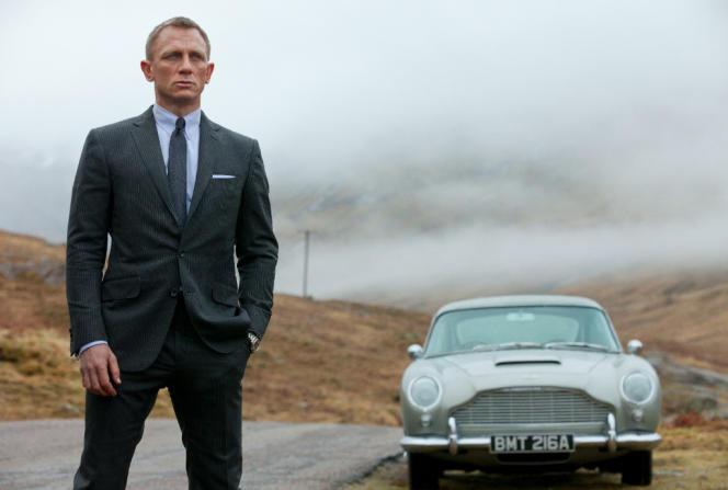 Daniel Craig en James Bond dans